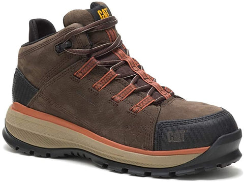 Caterpillar UTILIZE WP Alloy Toe Mens Work Safety Brown Leather Boots