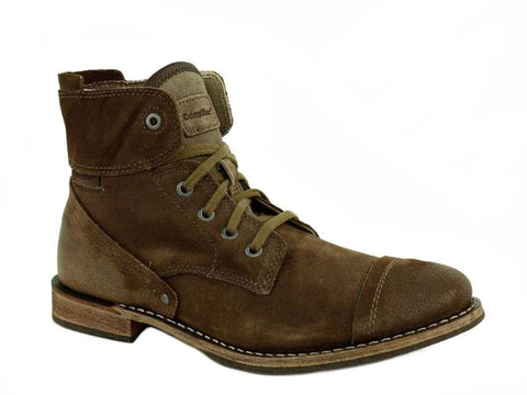 Caterpillar Quinton Men's Castoro Leather Suede Boots