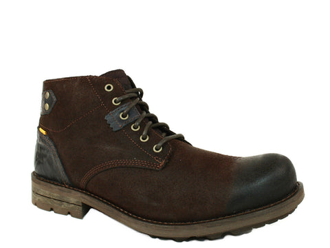 Caterpillar Newcastle Men's Mocha Leather Boots