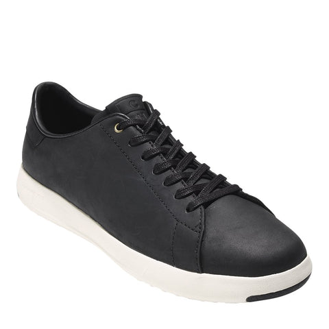 Cole Haan Men's Grandpro Tennis Black Oil Shoes Sneakers