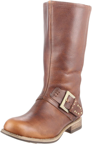 Caterpillar Payton Women's Brown Leather Casual Boots