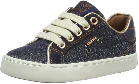 Geox J KIWI Girl Denim Sneaker