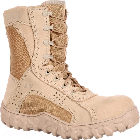 ROCKY S2V Composite Toe Tactical Military Boot Desert Tan