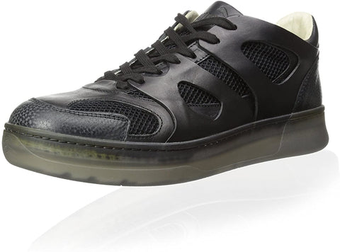 Alexander McQueen by PUMA McQ MOVE LO Men's Fashion Black Leather Sneakers Shoes