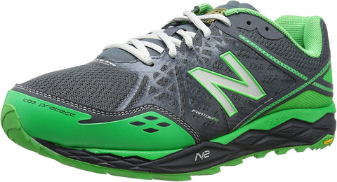 New Balance Men's MT1210G2 Trail Running Shoe Sneakers  Grey Green Black