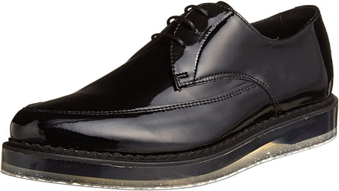 Diesel Men's Kalling Oxford Fashion Casual Dress Black Leather Shoes