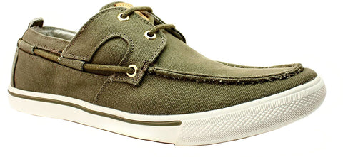 Tommy Bahama Calderon Casual Canvas Olive Men's Shoes