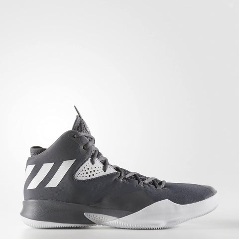 Adidas DUAL Threat Mens Athletic Basketball Shoes Sneakers