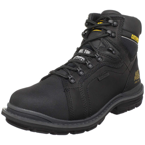 Caterpillar Manifold  Waterproof ST Insulated  Black Leather Men's Boots