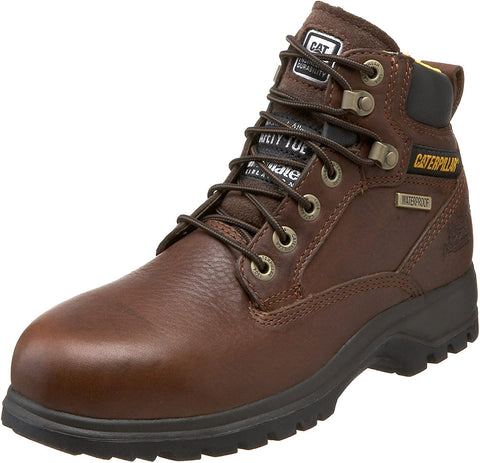 Caterpillar Kitson AST WPF Mid Cut Women's Brown Leather Boots