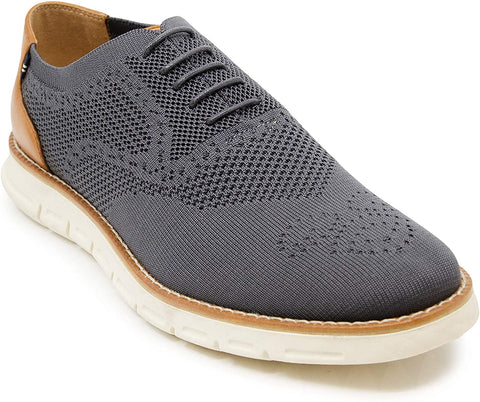 Nautica Men's Wingtip Oxford Casual Fashion Shoes