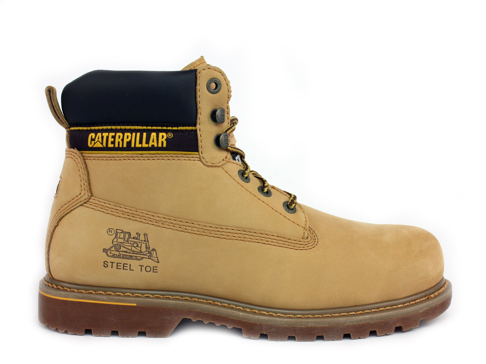 Caterpillar Holton ST 6&quot Men&39s Work and Safety Boots – ShoeVariety.com