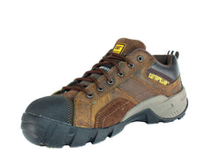 Caterpillar ARGON WMNS Comp Safety Toe Women's Work Brown Leather Shoes