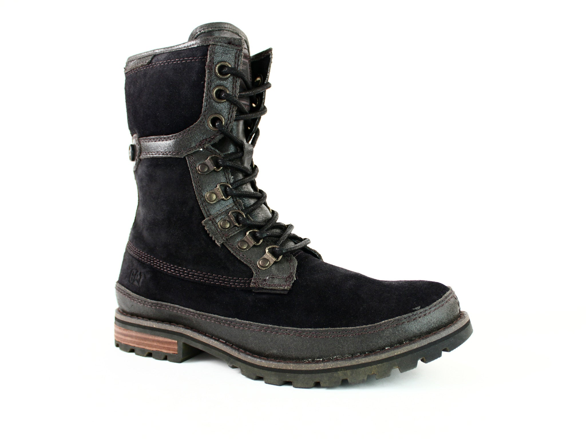 "Caterpillar Jake 8"" Men's Black Boots"