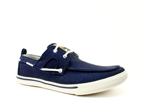 Tommy Bahama Calderon Casual Canvas Navy Men's  Shoes