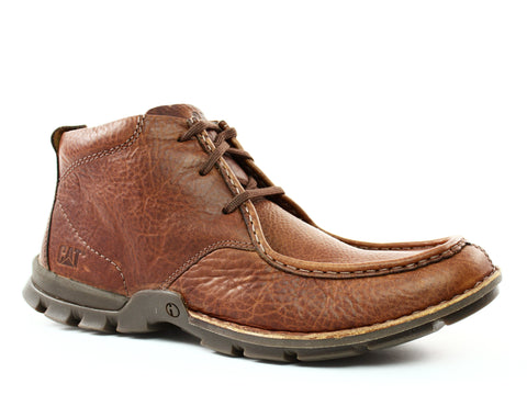 Caterpillar Merton Mid Casual Men's Boots Brown Leather