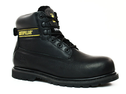 "Caterpillar Holton ST 6"" Men's Black Work and Safety Boots"