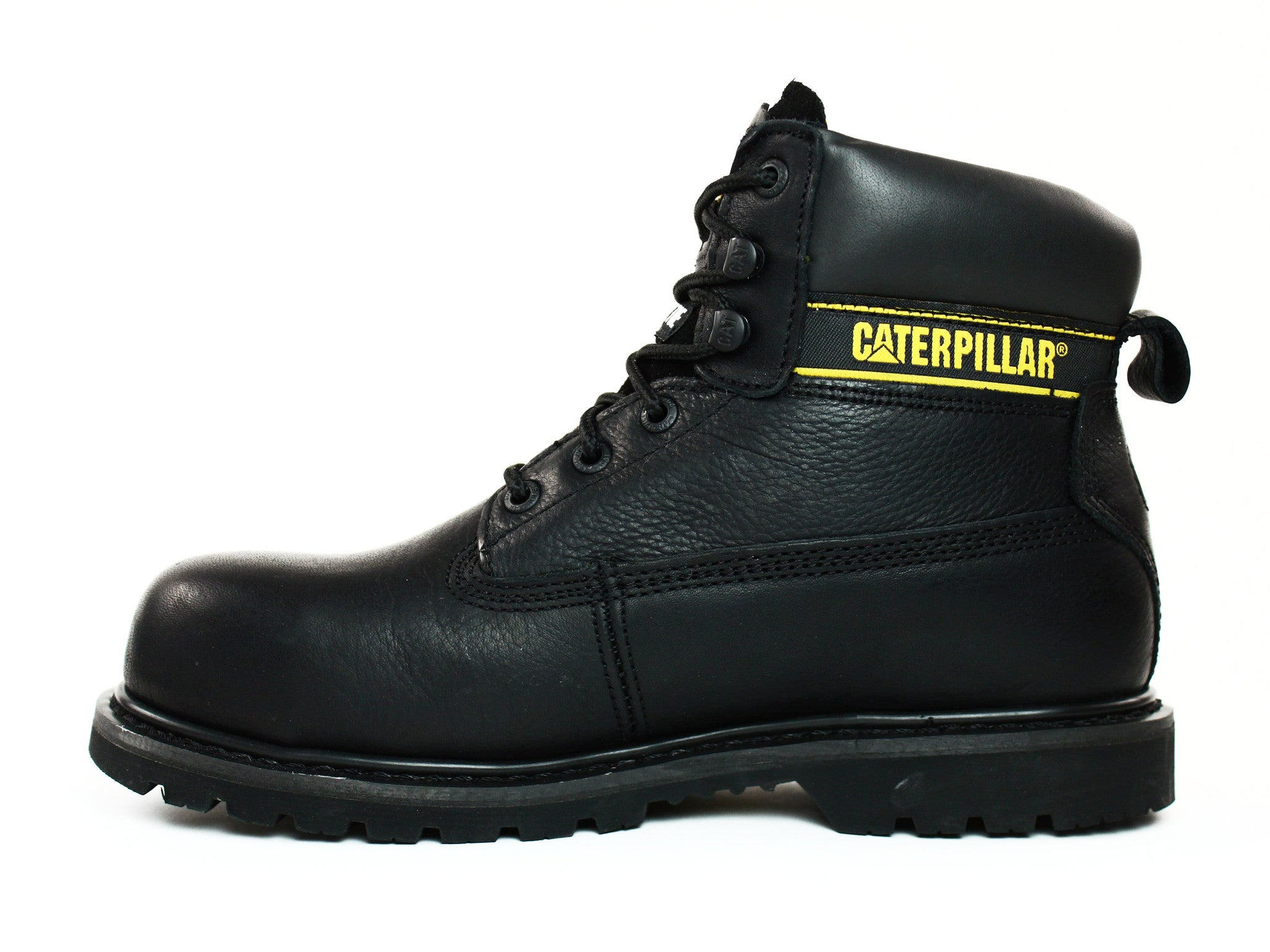 Caterpillar Holton ST 6&quot Men&39s Black Work and Safety Boots