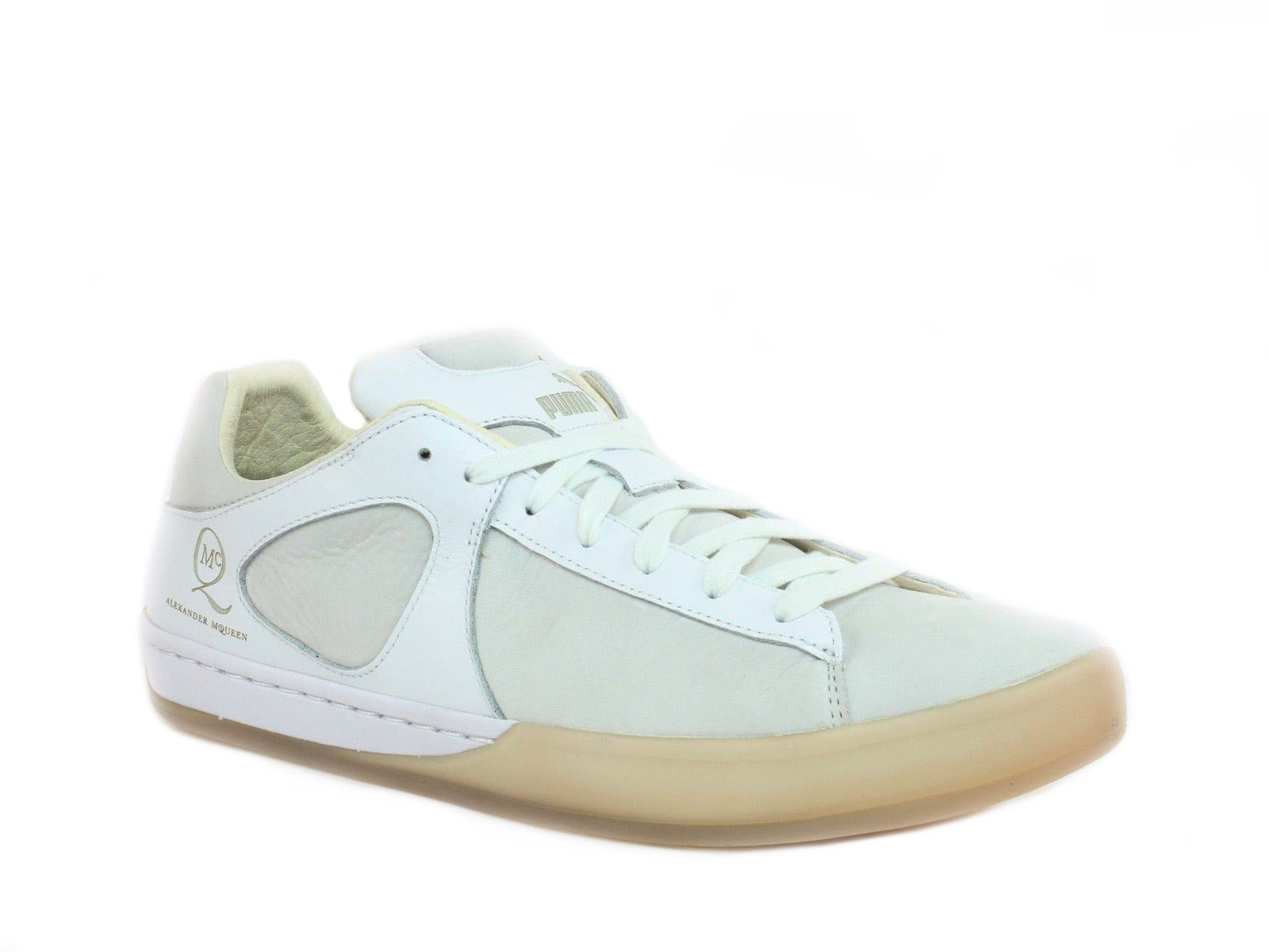 Leather and fabric sneakers Alexander McQueen TTrrXi1