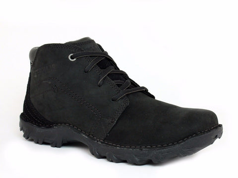 Caterpillar TRANSFORM Mid Cut Men's Slip Resistant Work Casual Black Leather Boot