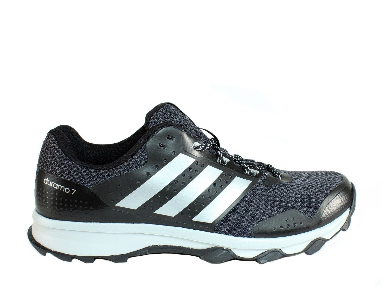 511d0e76a528 Adidas DURAMO 7 Trail M Men s Athletic Trail Running Shoes Sneakers Black  Silver