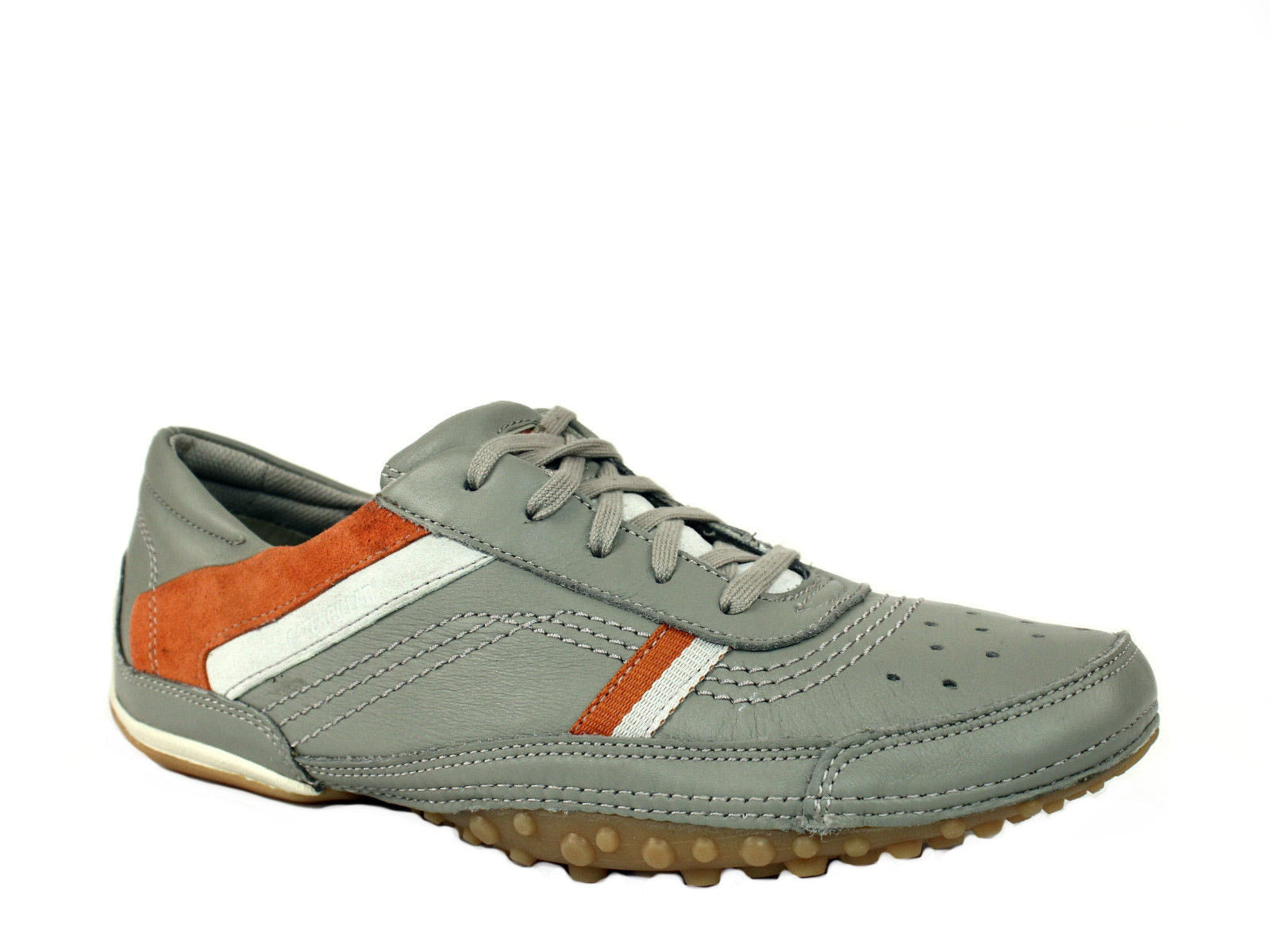 Caterpillar Dupri Oxford Grey Leather Men's Casual Shoes Sneakers