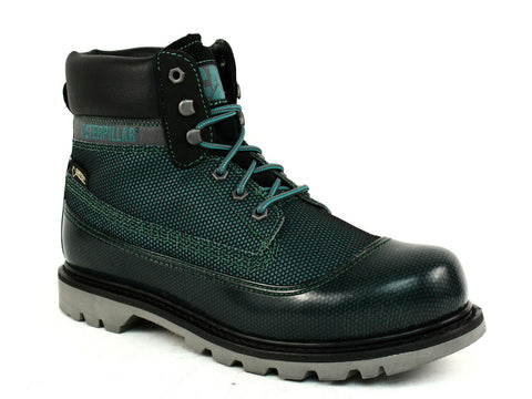 Caterpillar COLORADO GTX MESH Men's Work Green Leather Textile Boot