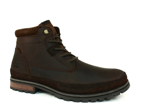 Caterpillar Oatman Men's Dark Brown Leather Boots