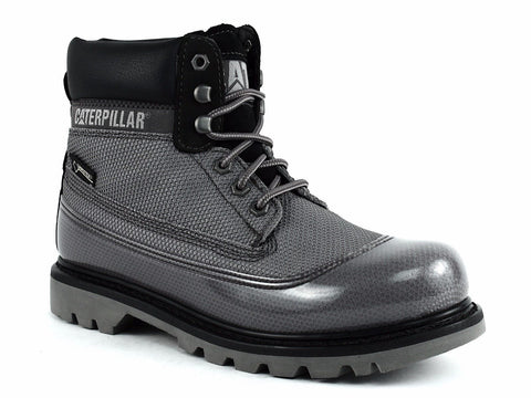 "Caterpillar PREMIER 8"" WP TX CT Men's Work Black Leather Boots"
