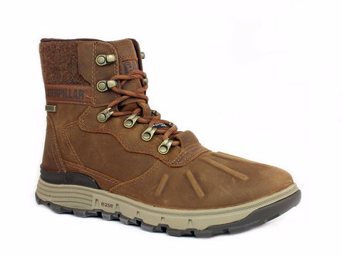 Caterpillar STICTION HI ICE+W Waterproof Men's Insulated Brown Leather Boot