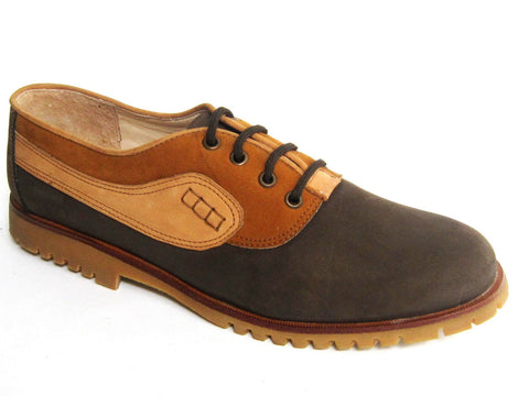 Men's Casual Oxfords Leather Nubuck Shoes Aldo Rossini