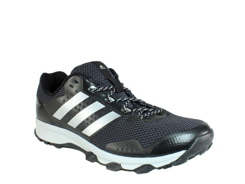 Adidas DURAMO 7 Trail M Men's Athletic Trail Running Shoes Sneakers Black Silver
