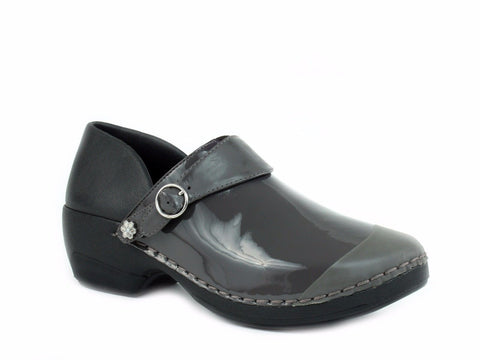Rocky 4EurSole Women's Nurse Clogs three styles in 1 pair of shoes Gray