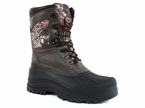 "PRO LINE Winchester Big Mike Men's 9"" Waterproof Insulated Camo Hunting Boot"