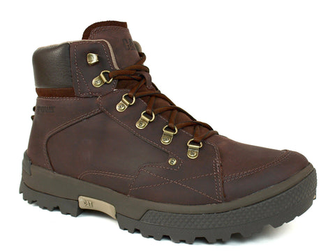 Caterpillar Duncan Mid Cut Dark Brown Men's Leather Boots