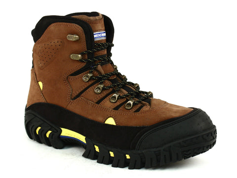 "Michelin PILOT EXALTO 6"" Men's Hiking Brown Nubuck Boots"