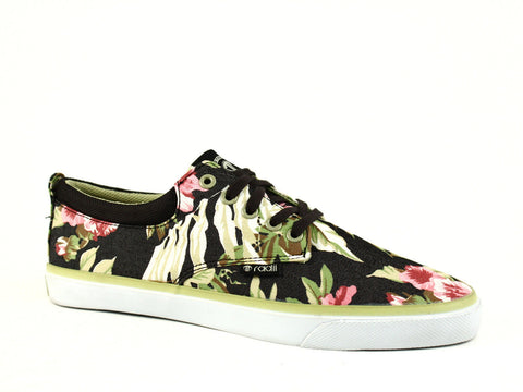 Radii THE JAX Men's Casual Shoes Low-Top Sneakers Black Floral