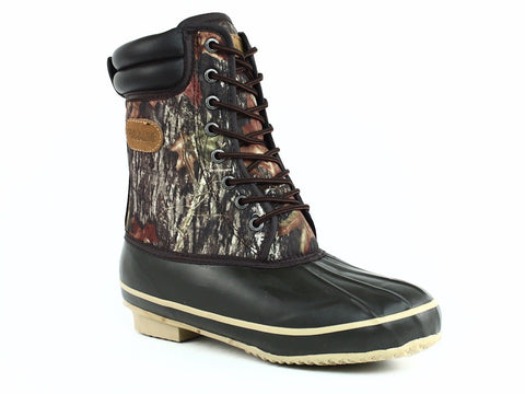 PRO LINE Men's HUNTING and SPORT Waterproof Insulated Brown Camo Boots
