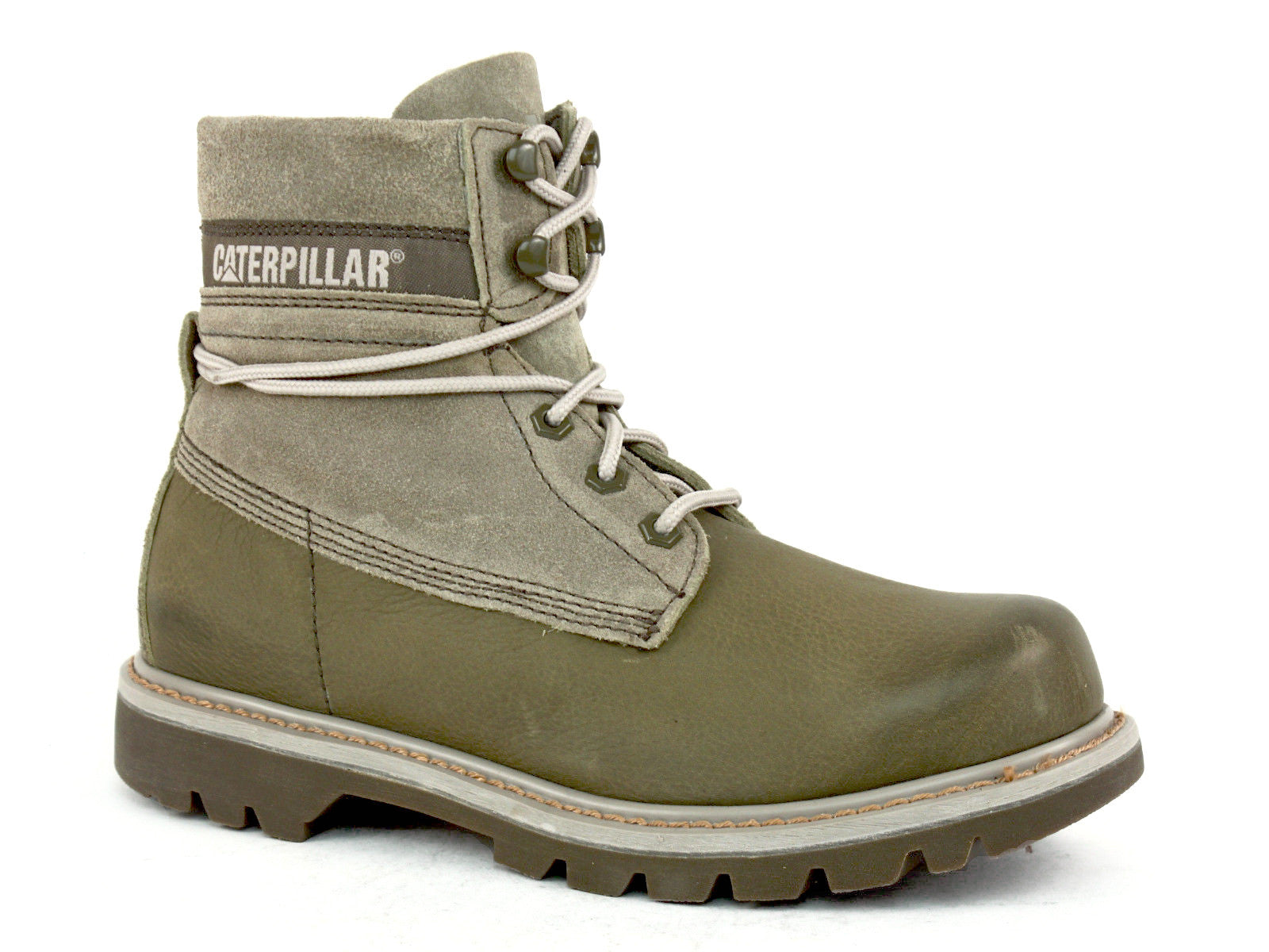 "Caterpillar Colorado 6"" Men's Boots Slouch Nutria Leather"