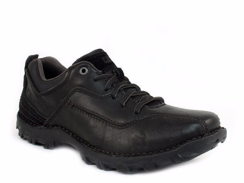 Caterpillar CADEN Oxford Men's Work Casual Black Leather Shoes
