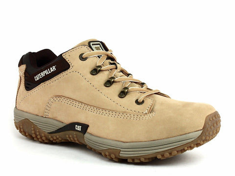 Caterpillar CORAX LO Athletic Men's Work Casual Honey Leather Shoes Sneakers