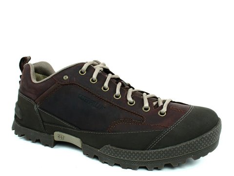 Caterpillar Reznor Oxford Men's  Brown Leather/Nubuck Shoes Sneakers