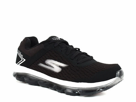 Skechers Go Air Men's Athletic Walking Running Casual Black Sneakers Shoes
