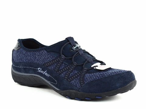 Skechers ROAD TRIPPIN Women's Casual Comfortable Loafer Flat Navy Shoes