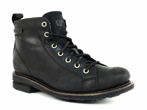 Caterpillar SULLIVAN Men's Classic Casual and Work Black Leather Boot