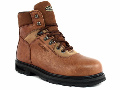 Wolverine Steel Toe EH W04013 Men's Work and Safety Brown Leather Boot