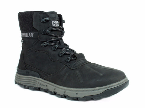 Caterpillar STICTION HI ICE+W Waterproof Men's Insulated Black Leather Boot