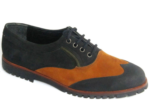 Mens Casual Oxfords Leather Nubuck Shoes Aldo Rossini