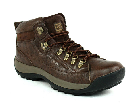 Caterpillar Active Alaska Slip Resistant Men's  Brown Leather Boots