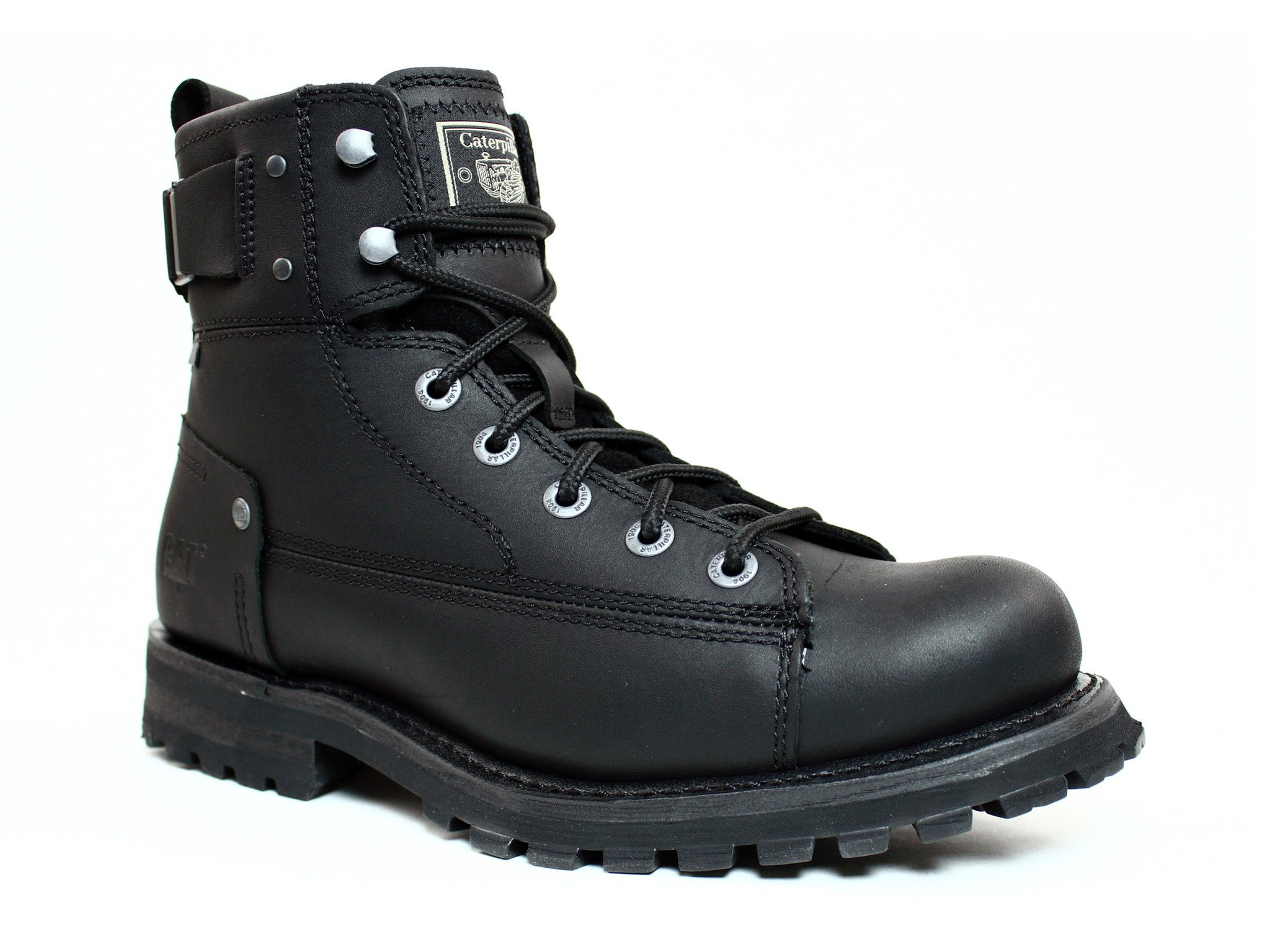 Casual Black Leather Boots